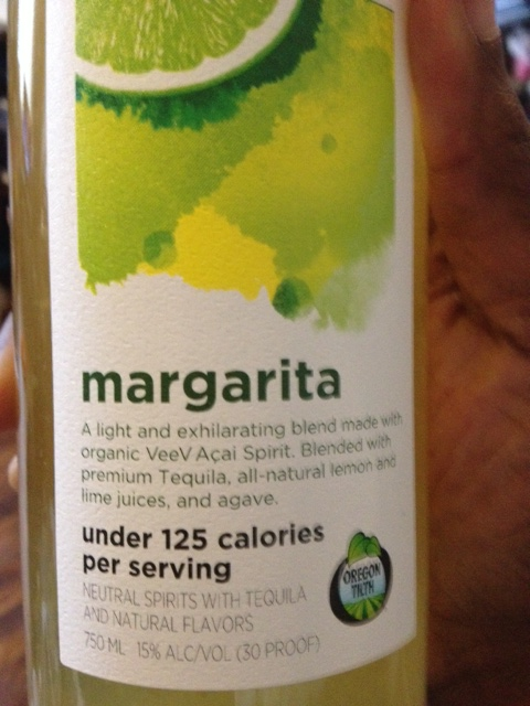 Hmm ... organic margaritas anyone?  I'll take 8!