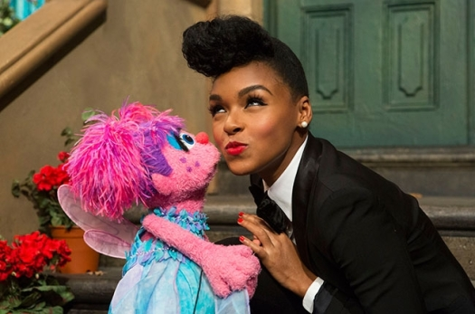 Janelle Monae on Sesame Street.  Click for the low down.