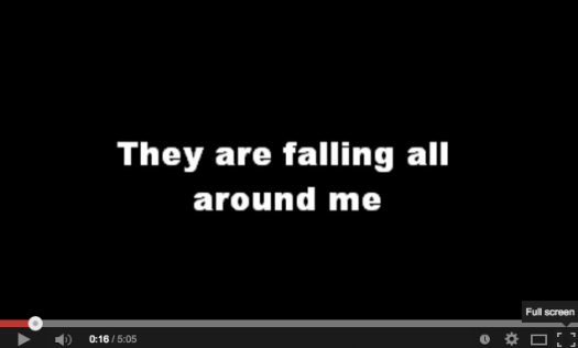 Sweet Honey in the Rock:  They Are Falling.   Click the image for the song.